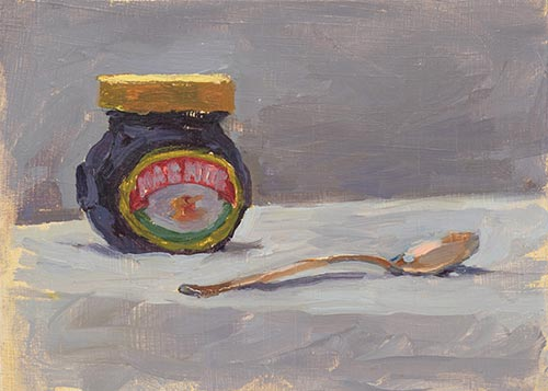 Marmite And Spoon