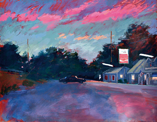 Pink clouds at nightfall South Wellfleet I